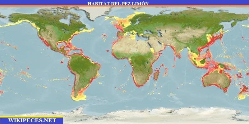 habitat del pez limón - wikipeces.net