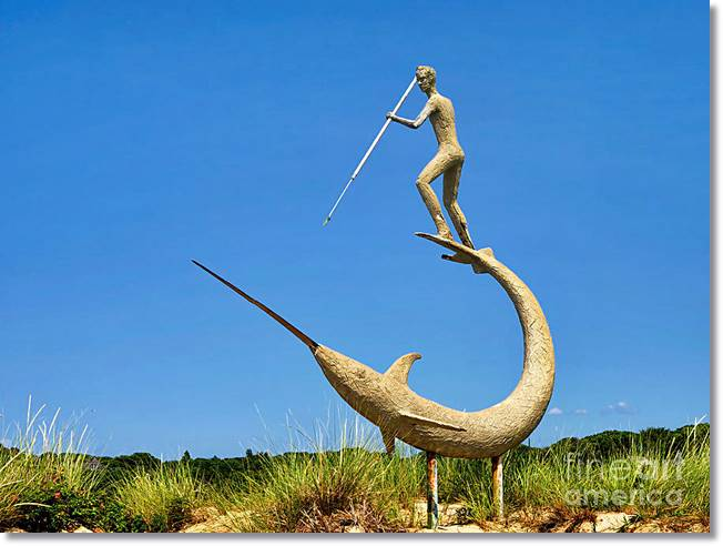 La pesca del pez espada con arpón ha sido la forma tradicional de captura de este pez más extendida durante mucho tiempo